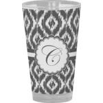 Ikat Drinking / Pint Glass (Personalized)