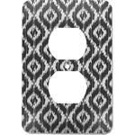 Ikat Electric Outlet Plate (Personalized)