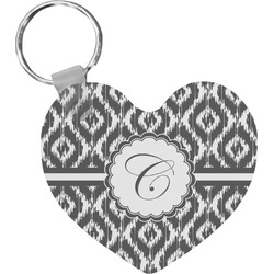 Ikat Heart Keychain (Personalized)