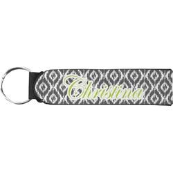 Ikat Neoprene Keychain Fob (Personalized)
