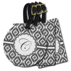 Ikat Plastic Luggage Tags (Personalized)