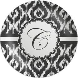"Ikat Melamine Plate - 8"" (Personalized)"
