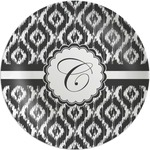 Ikat Melamine Plate (Personalized)