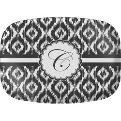 Ikat Melamine Platter (Personalized)