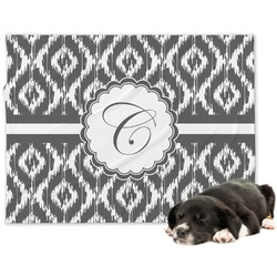 Ikat Minky Dog Blanket (Personalized)