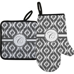 Ikat Oven Mitt & Pot Holder (Personalized)