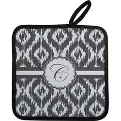 Ikat Pot Holder w/ Initial