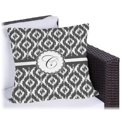 Ikat Outdoor Pillow (Personalized)