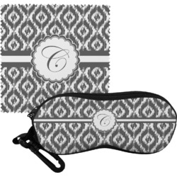 Ikat Eyeglass Case & Cloth (Personalized)