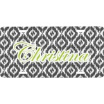 Ikat Front License Plate (Personalized)