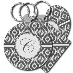 Ikat Plastic Keychains (Personalized)