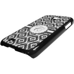 Ikat Plastic Samsung Galaxy 4 Phone Case (Personalized)
