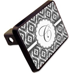 "Ikat Rectangular Trailer Hitch Cover - 2"" (Personalized)"