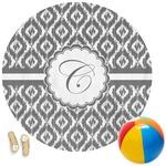 Ikat Round Beach Towel (Personalized)
