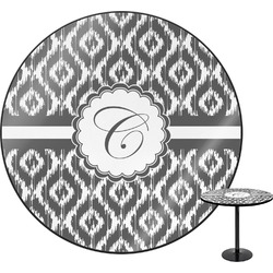 Ikat Round Table (Personalized)