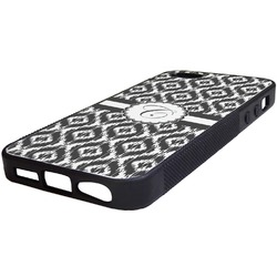 Ikat Rubber iPhone 5/5S Phone Case (Personalized)