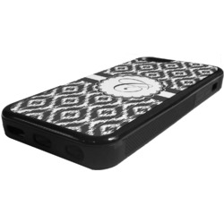 Ikat Rubber iPhone 5C Phone Case (Personalized)