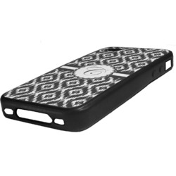 Ikat Rubber iPhone Case 4/4S (Personalized)