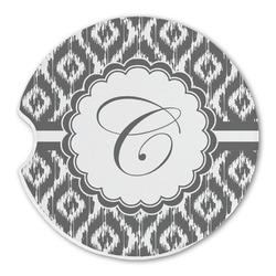 Ikat Sandstone Car Coasters (Personalized)