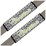 Ikat Seat Belt Covers (Set of 2) (Personalized)