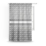 Ikat Sheer Curtains (Personalized)