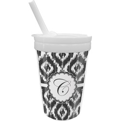 Ikat Sippy Cup with Straw (Personalized)