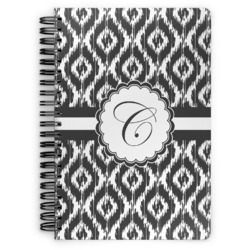Ikat Spiral Notebook (Personalized)