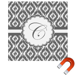 Ikat Square Car Magnet (Personalized)