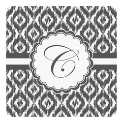 Ikat Square Decal - Custom Size (Personalized)