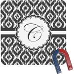 Ikat Square Fridge Magnet (Personalized)