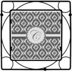 Ikat Square Trivet (Personalized)