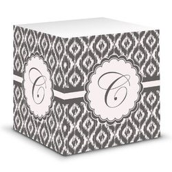 Ikat Sticky Note Cube (Personalized)