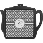 Ikat Teapot Trivet (Personalized)
