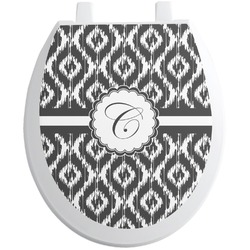 Ikat Toilet Seat Decal (Personalized)