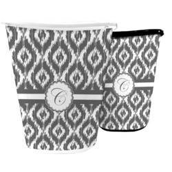 Ikat Waste Basket (Personalized)