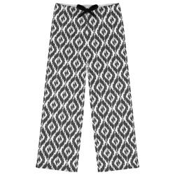 Ikat Womens Pajama Pants (Personalized)