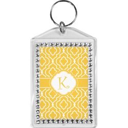 Trellis Bling Keychain (Personalized)
