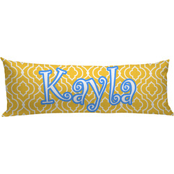 Trellis Body Pillow Case (Personalized)