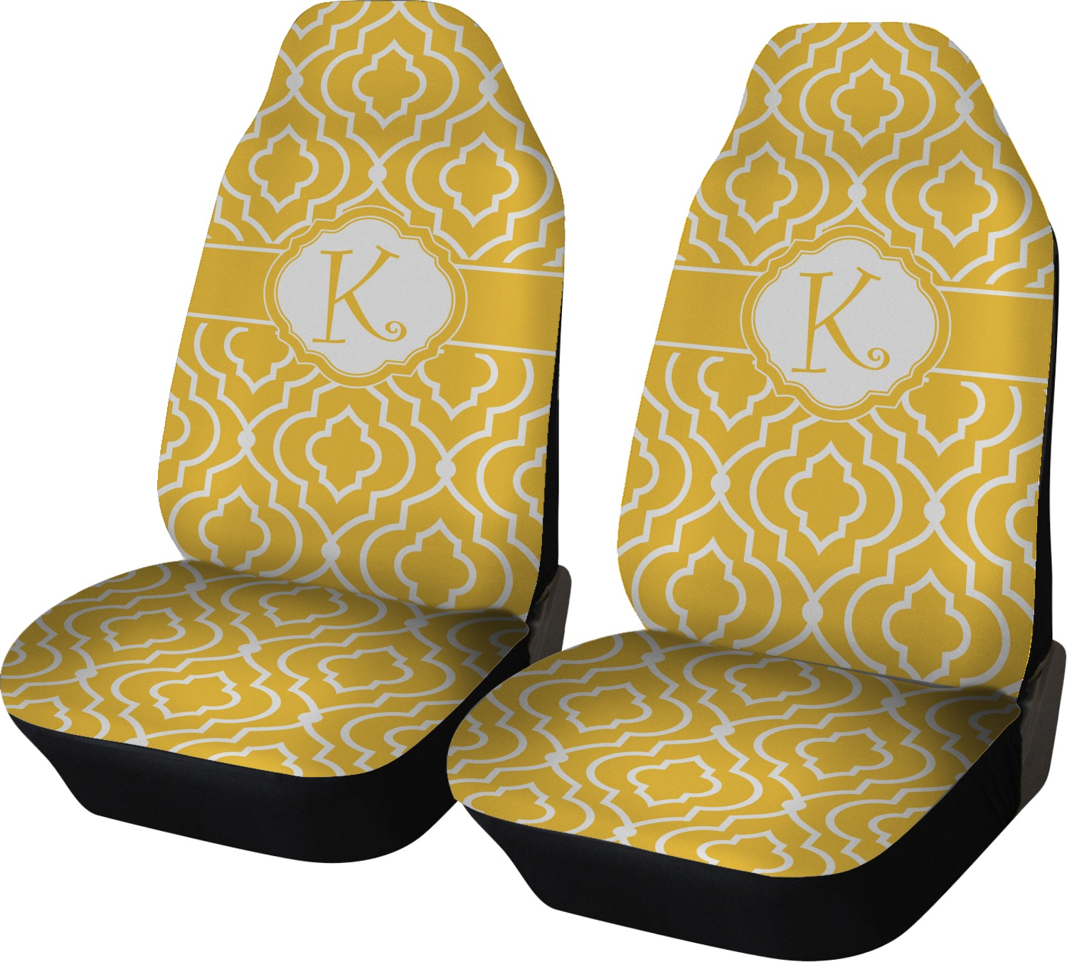 Trellis Car Seat Covers Set Of Two Personalized