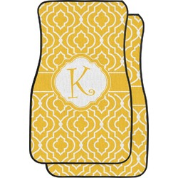 Trellis Car Floor Mats (Front Seat) (Personalized)