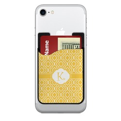 Trellis 2-in-1 Cell Phone Credit Card Holder & Screen Cleaner (Personalized)