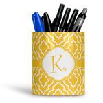 Trellis Ceramic Pen Holder