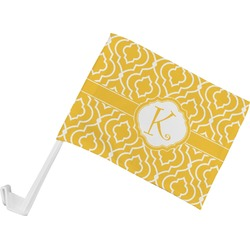Trellis Car Flag (Personalized)