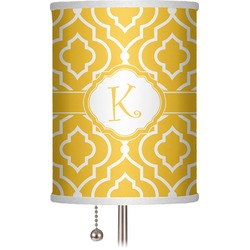 "Trellis 7"" Drum Lamp Shade (Personalized)"