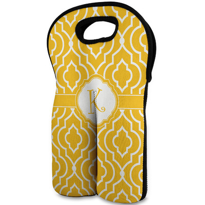 Trellis Wine Tote Bag (2 Bottles) (Personalized)