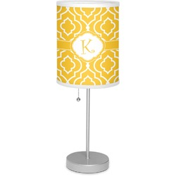 "Trellis 7"" Drum Lamp with Shade Polyester (Personalized)"