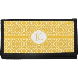 Trellis Canvas Checkbook Cover (Personalized)