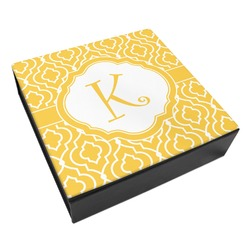 Trellis Leatherette Keepsake Box - 8x8 (Personalized)