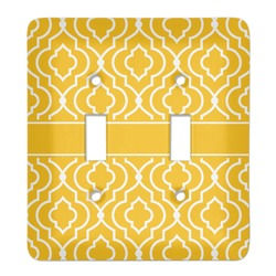 Trellis Light Switch Cover (2 Toggle Plate) (Personalized)