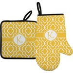 Trellis Oven Mitt & Pot Holder (Personalized)